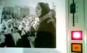 "Joya's book is entitled ""A Woman Among Warlords: The Extraordinary Story of an Afghan Who Dared to Raise Her Voice"""