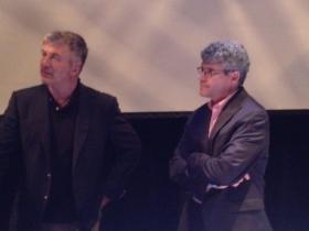 Alec Baldwin and Riverkeeper President Paul Gallay