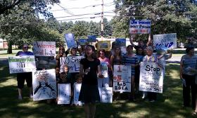 Westfield Concerned Citizens protest in August 2011