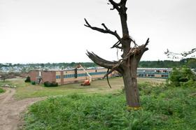 Cathedral High School in Springfield, MA was left unusable because of the damage caused by the June 1,2011 tornado.