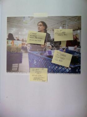 Notes on the first round of CMYK proofs from Prographics