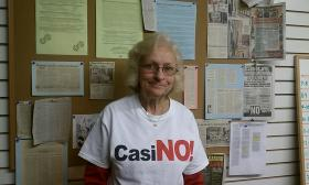 Iris Cardin, co-president of Quaboag Valley Against Casinos