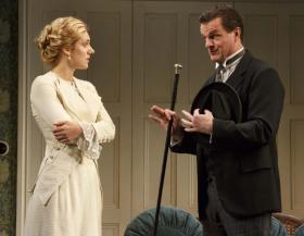 "Charlotte Parry and Michael Cumpsty in ""The Winslow Boy"""