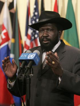 South Sudan President Salva Kiir
