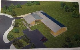 Manna Wellness Inc. site plans for an LEED-certified facility.