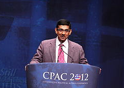 Dinesh D'Souza speaking at CPAC 2012.