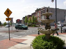 A view of downtown Glens Falls