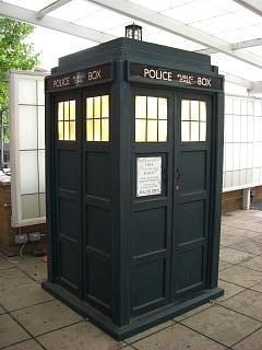 The TARDIS from Dr. Who