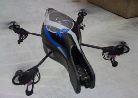 An example of a Quadcopter unmanned aerial vehicle
