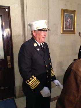 Albany Fire Chief Warren Abriel Jr.