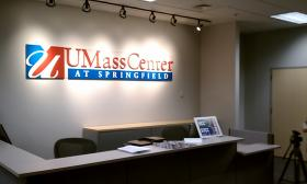 The welcome center for the UMass Center at Springfield opened March 31st  Classes begin Sept. 2 at the newest UMass campus.