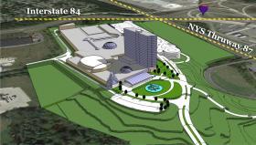 Rendering of Hudson Valley Casino and Resort