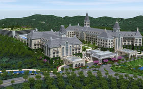 Rendering of the proposed Sterling Forest Resort