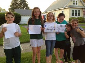 "These neighborhood children sparked public outcry to ""save the bear."""