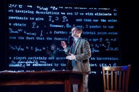 """Mark H. Dold in """"Breaking the Code"""" at Barrington Stage Company"""