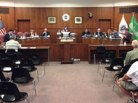 There was no capital budget request on the City Council agenda at Tuesday's meeting.