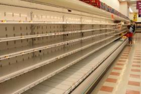 Most Market Basket stores like this one in Somerville,MA have no stocks of fresh foods