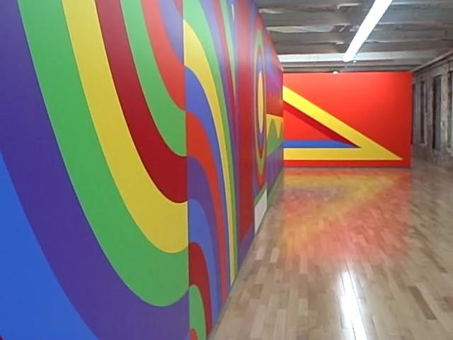 The Sol Lewitt installation at Mass MOCA is one of thousands of collections of art on displace in ArtCountry.