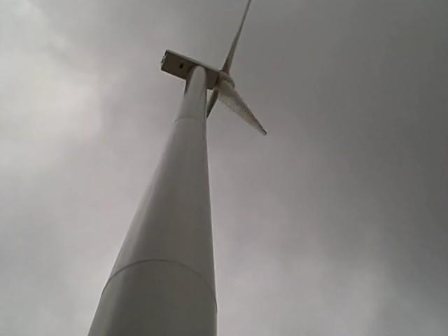 60 Meter Wind Turbine Powers Williams Stone in East Otis