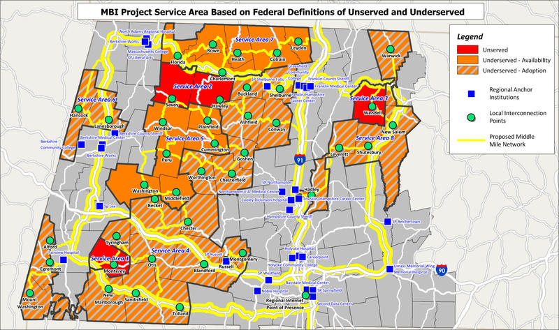 MBI's Comprehensive Map of Underserved and Unserved Communities in Western Mass