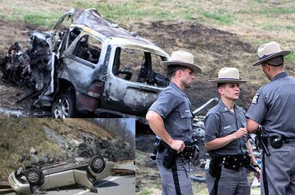 Taconic Parkway Crash, July 2009.