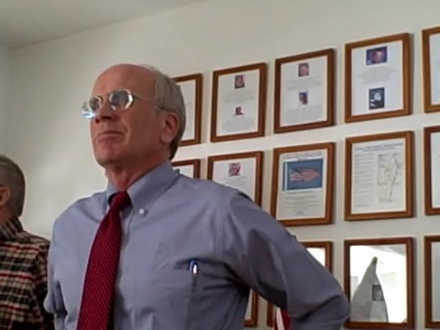 Vermont Congressman Peter Welch at the Vermont Veterans Home