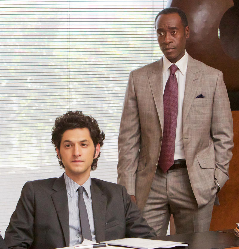 "Ben Schwartz and Don Cheadle on Showtime's ""House of Lies"""