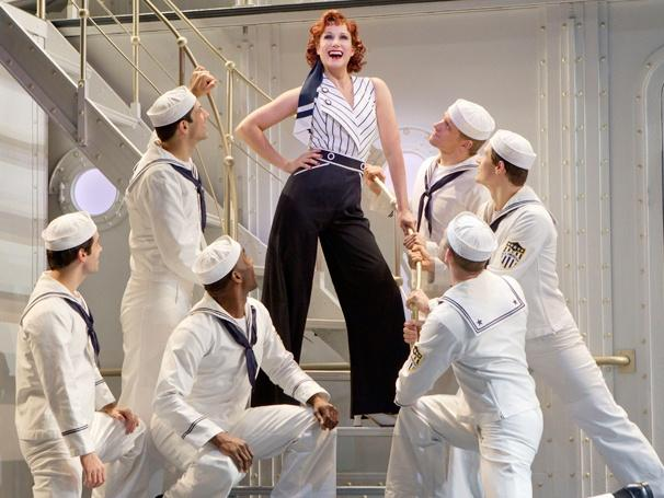 Stephanie J. Block in <em>Anything Goes</em>