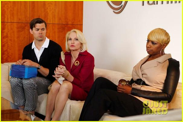 Andrew Rannells, Ellen Barkin, and NeNe Leakes on <em>The New Normal</em>