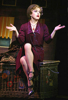 Bernadette Peters in <em>Gypsy</em>