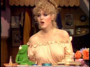 Bernadette Peters on <em>The Muppet Show</em>