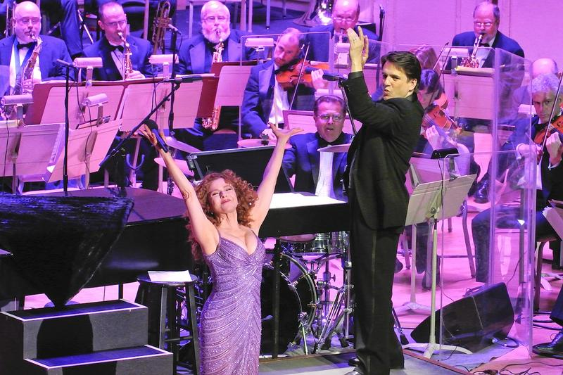 Bernadette Peters, Keith Lockhart, and The Boston Pops