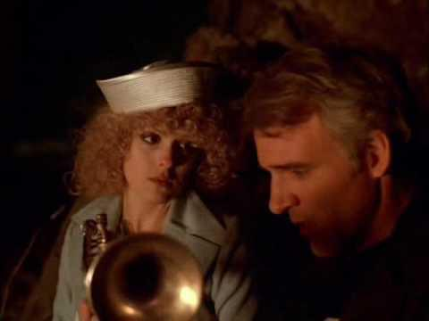 Bernadette Peters with Steve Martin in <em>The Jerk</em>