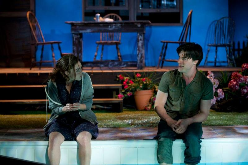 Heather Lind and Finn Wittrock