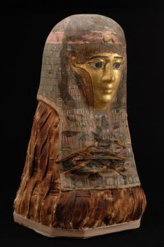 Mummy Portrait Mask (detail)