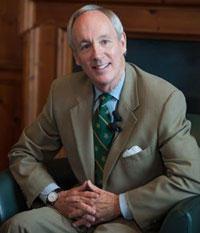 UVM President Tom Sullivan