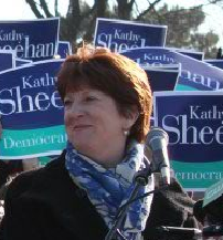 Mayor Kathy Sheehan is all but assured of a second term after winning the Democratic primary Tuesday.