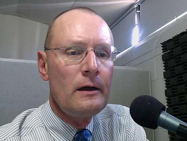 WAMC Pioneer Valley Bureau Chief Paul Tuthill