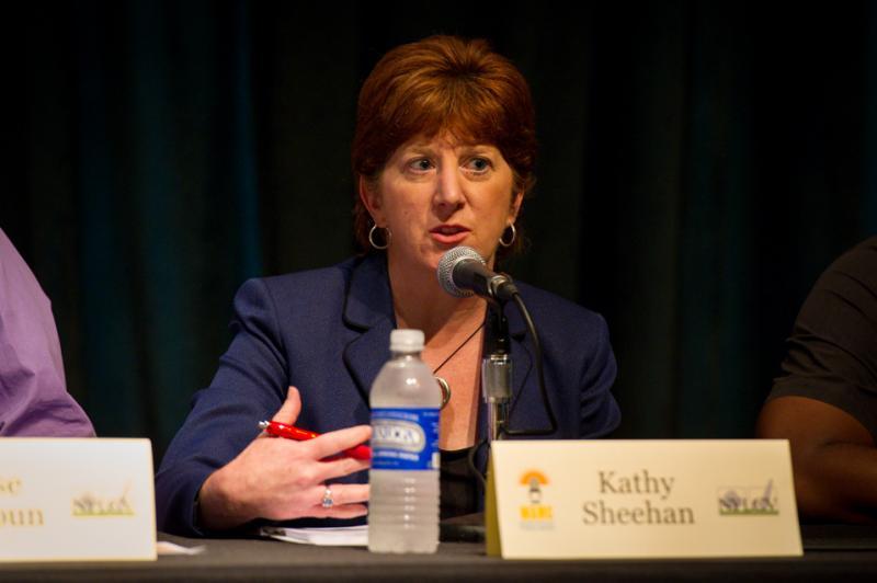 Candidate Kathy Sheehan