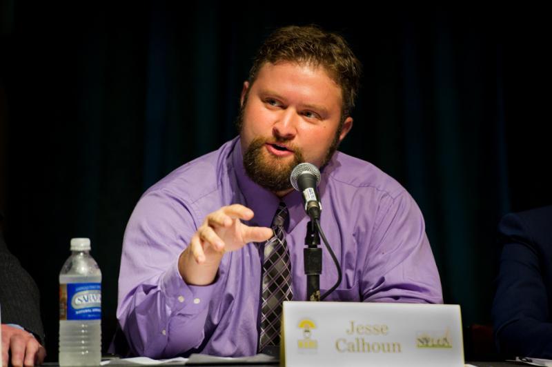 Mayoral Candidate Jesse Calhoun
