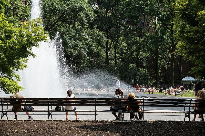 Summer in New York City.