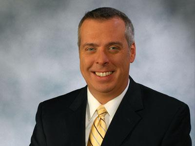 Newschannel 13 Meteorologist Jason Gough
