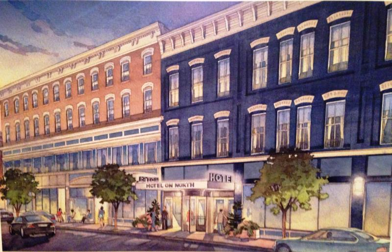 Downtown boutique hotel proposed for pittsfield wamc for Boutique hotels downtown