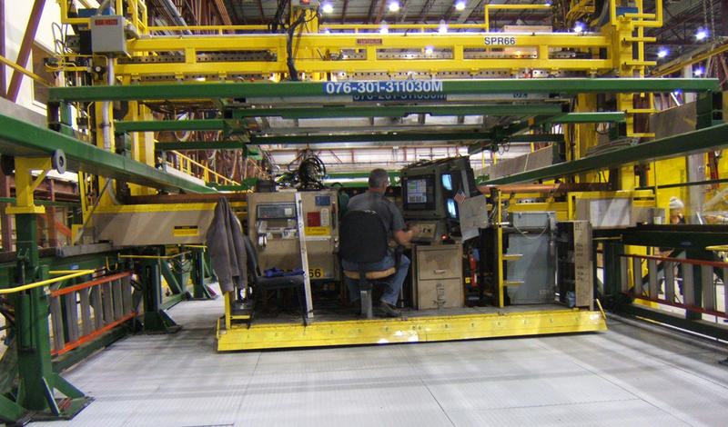 File photo of Bombardier rail manufacturing plant in Plattsburgh