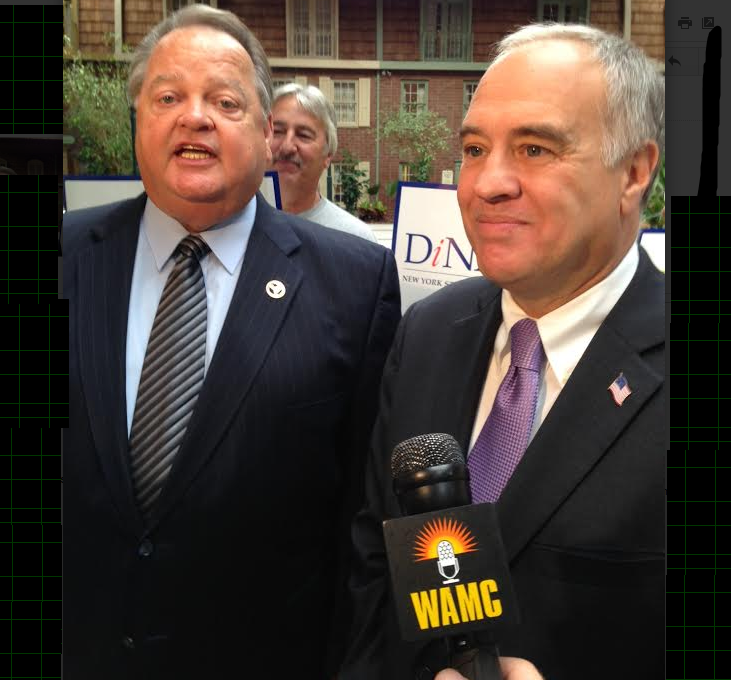 Comptroller DiNapoli, at right.