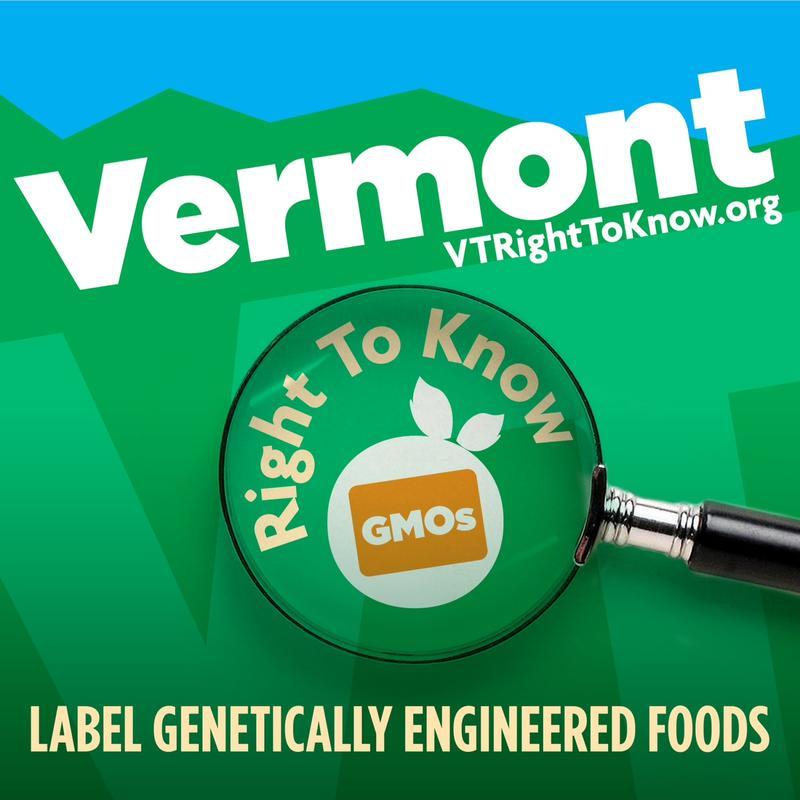 Vermont Right to Know GMO logo
