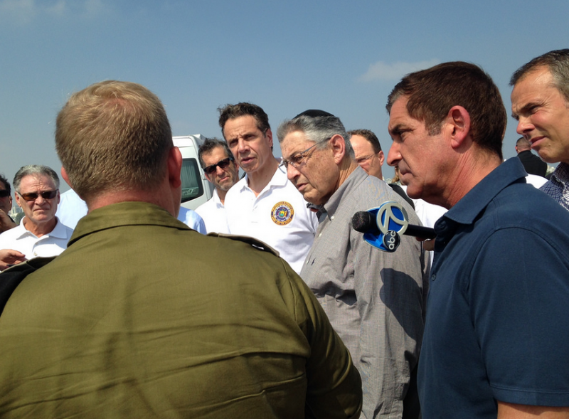 Governor Cuomo Receives Briefing on Iron Dome