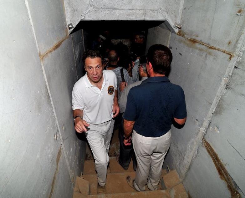 Governor Cuomo Tours Tunnels Near Gaza Border