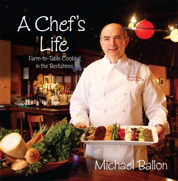 "Chef Michael Ballon and his book ""A Chef's Life"""
