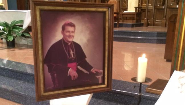 a portrait of Springfield Bishop emeritus Joseph Maguire